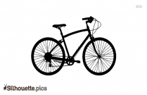 Vintage Bicycle Silhouette