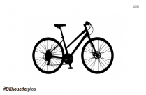 Ride My Bicycle Schwinn Panther Silhouette