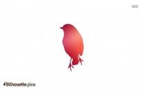 Big Bird Silhouette Art
