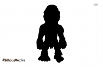 Big Foot Clipart Silhouette