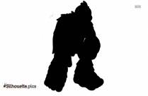 Bigfoot Clipart Silhouette Vector