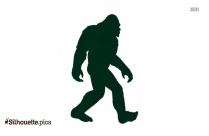 Bigfoot Silhouette Image
