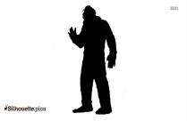 Bigfoot Silhouette Vector