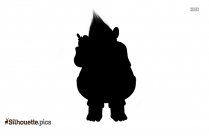 Biggie Trolls Silhouette Clip Art