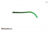 Bike Chain Silhouette