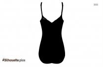 Bikini Dress Silhouette Drawing