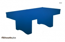Billiards Table Silhouette