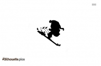 Black Peter Pan Silhouette Image