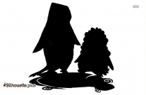 Chinstrap Penguin Drawing Silhouette