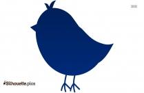 Bird On Branch Silhouette Clip Art