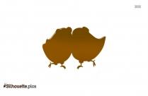 Bird Couple Silhouette