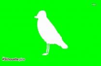 Big Bird Silhouette Illustration