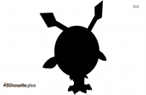 Aipom Pokemon Silhouette Drawing