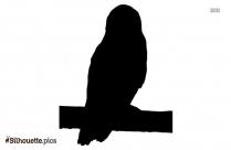 Bird Sitting Silhouette Background