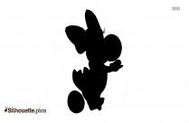 Birdo Yoshi Big Fat Egg Silhouette