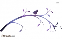 Download Birds On A Branch Image Silhouette
