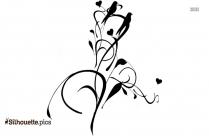 Swan Silhouette Free Vector Art