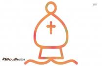 Bishop Icon Silhouette