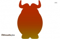 Circus Elephant Silhouette Vector