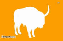 Bison Latifrons Silhouette Image