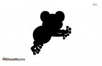 Amphibian Symbol Silhouette, Frog Vector Image