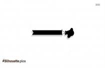 Cartoon Plane Silhouette Clipart