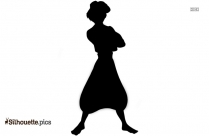 Disney Minnie Mouse Silhouette Vector
