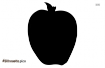 Quince Fruit Silhouette Drawing