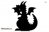 Cartoon Dragon Animal Silhouette
