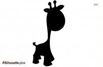 Silhouette Giraffe Vector