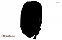 Chinese Fan Silhouette Drawing