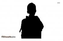 Free Boy Reading Silhouette