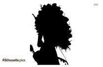 Old Witch Silhouette, Evil Witch Black And White Clip Art