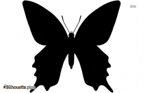 Free Flying Butterfly Silhouette Vector