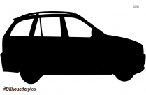 Animated Car Silhouette Clipart