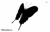 Free Butterfly Clipart Silhouette