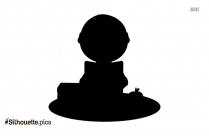 Man Reading Book Silhouette Free Download