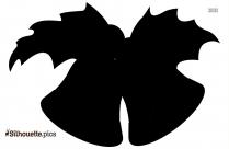 Black And White Cartoon Jingle Bells Silhouette