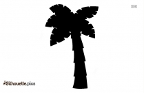 Palm Tree Silhouette Clip Art Image For Download