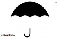 Navy Umbrella Silhouette