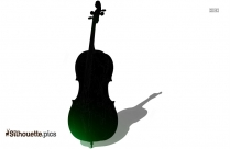 Acoustic Guitar Silhouette Picture