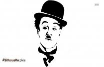 Free Charlie Chaplin Silhouette