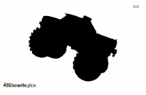 Black And White Chevy Truck Silhouette