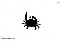 Crab Cartoon Drawing Silhouette