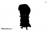 Spongebob Cartoons Silhouette
