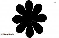 Free Penstemon Flower Silhouette