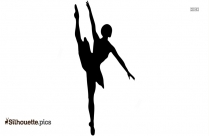 Black And White Dance Clipart Silhouette