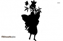 Black And White Dark Fairy Drawings Moon Silhouette