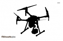 Dji Drones Silhouette Free Vector Art