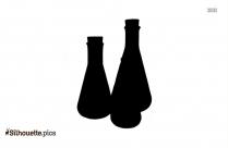 Beaker Silhouette Image Vector